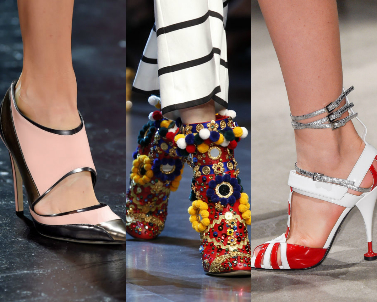 Shoes spring 2016 collage