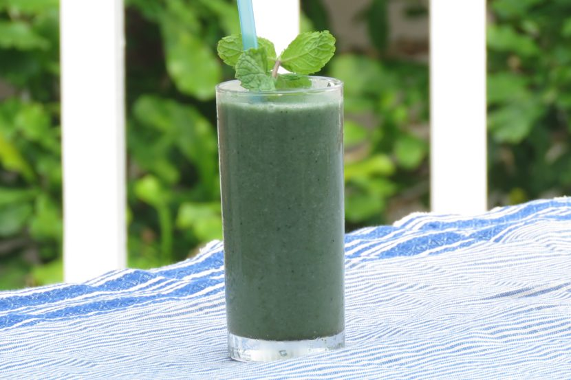 Mint Camu Camu Smoothie