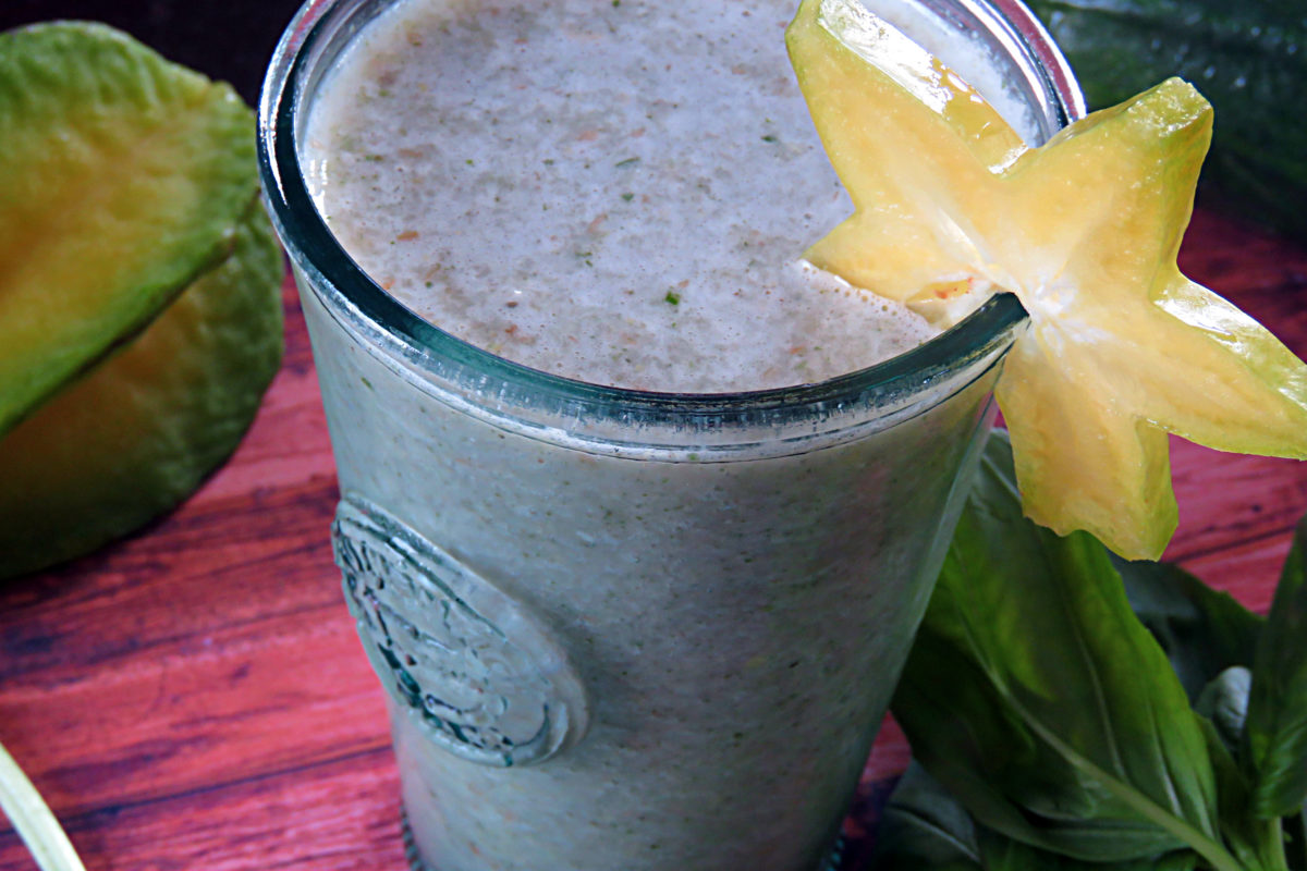 Star Fruit Protein Smoothie