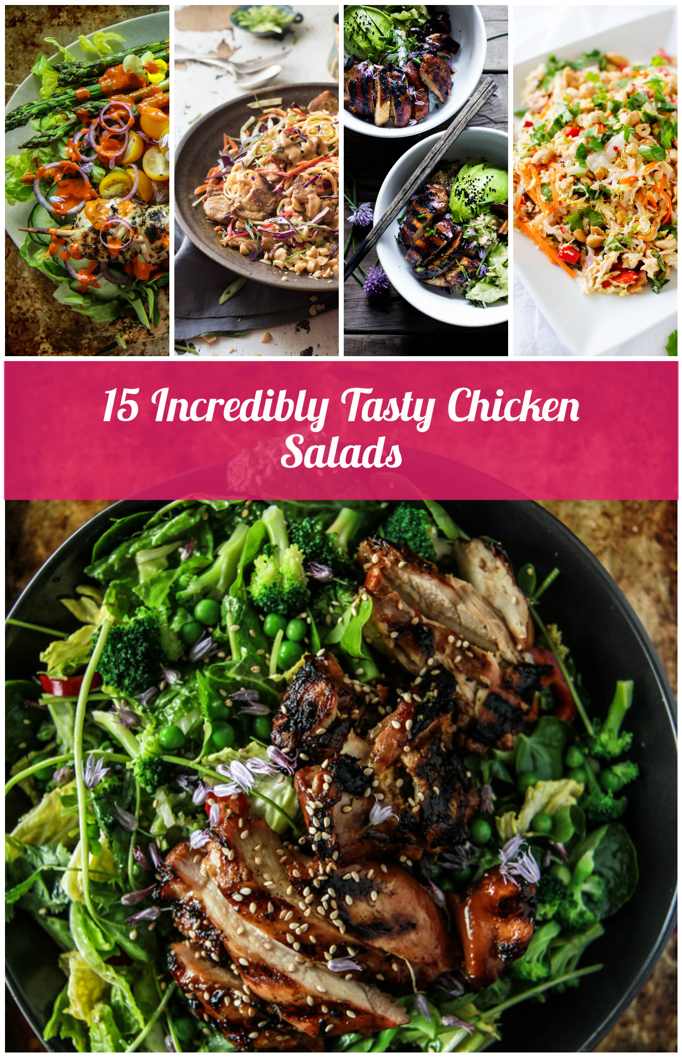 15 Incredibly Tasty Chicken Salads
