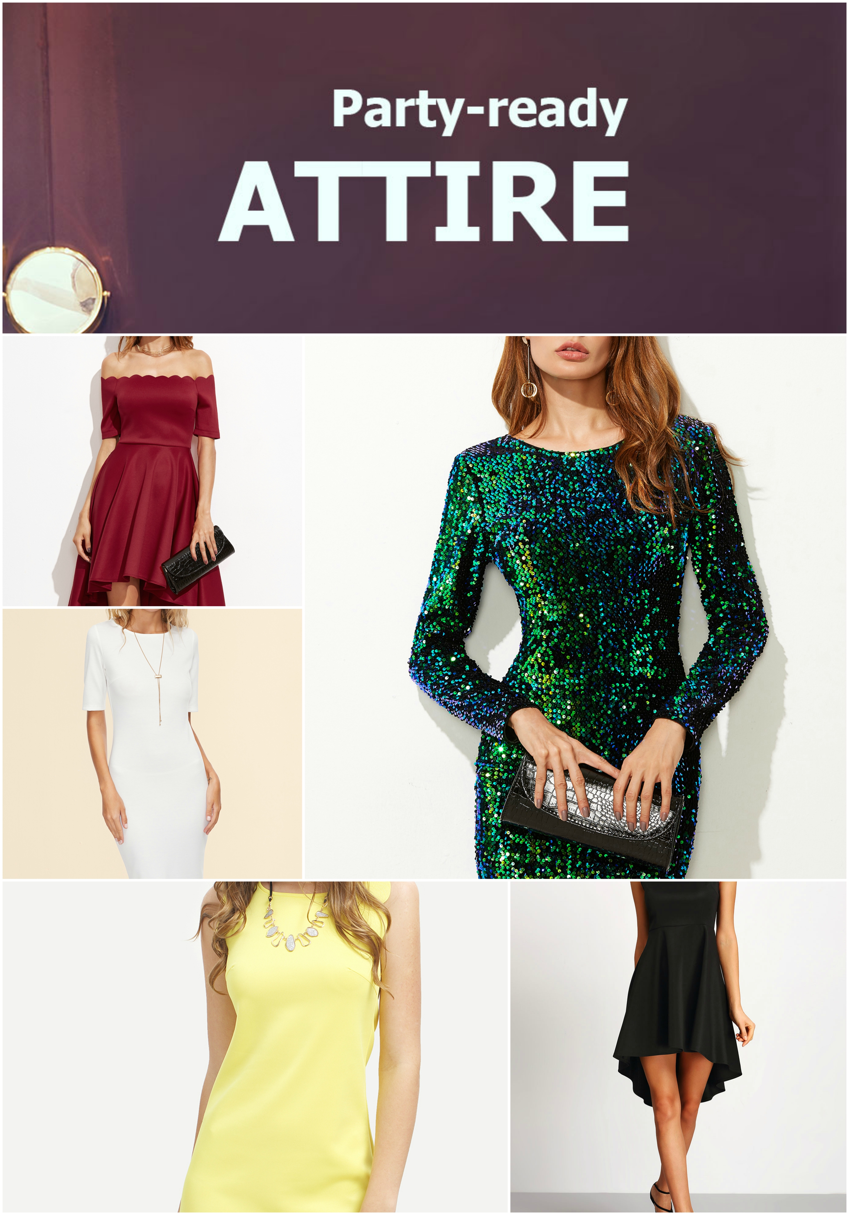 Party-Ready Attire Sale! Items up to 80% off